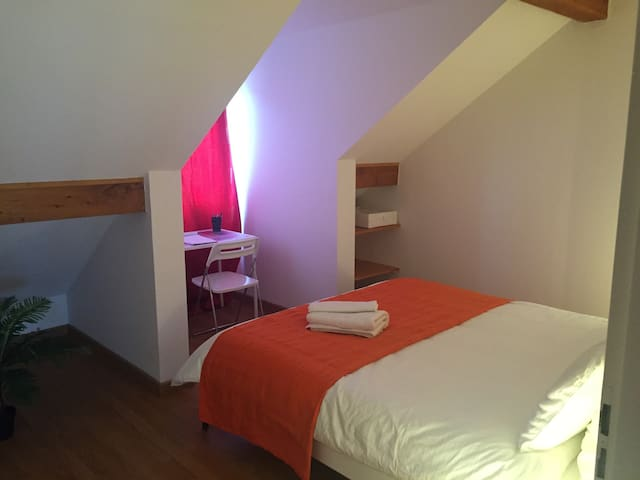 Charmante,  spacieuse, chambre - Thoiry - Apartment