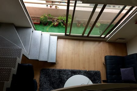 Duplex apartment, fully equipped, parking, wifi - Las Condes