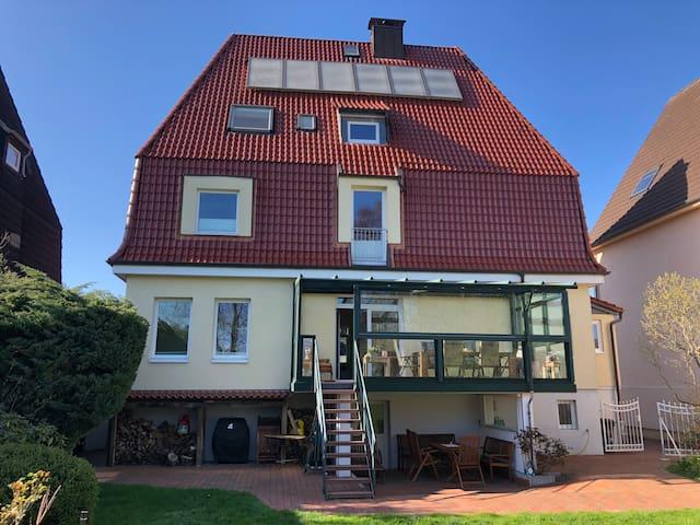 """Villa Topas - Ferienwohnung """"Muschel"""""""