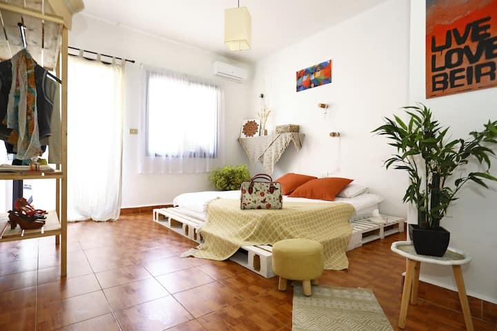 Artistic 2 Bedroom Apt-in the Heart of Mar Mikhael