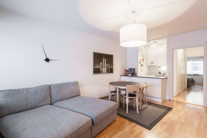 Great location in trendy Ullanlinna