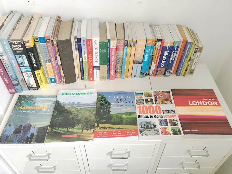 Plenty of books about London for you to read