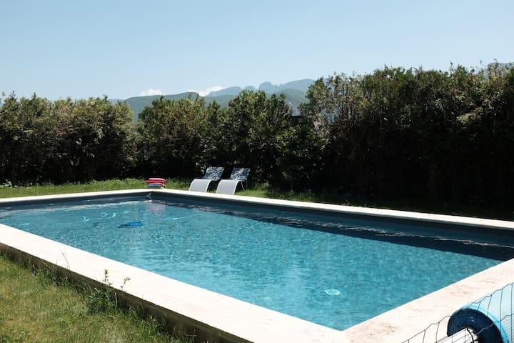 Maison de village au pied du Vercors, Drôme Valley - Charpey - Casa