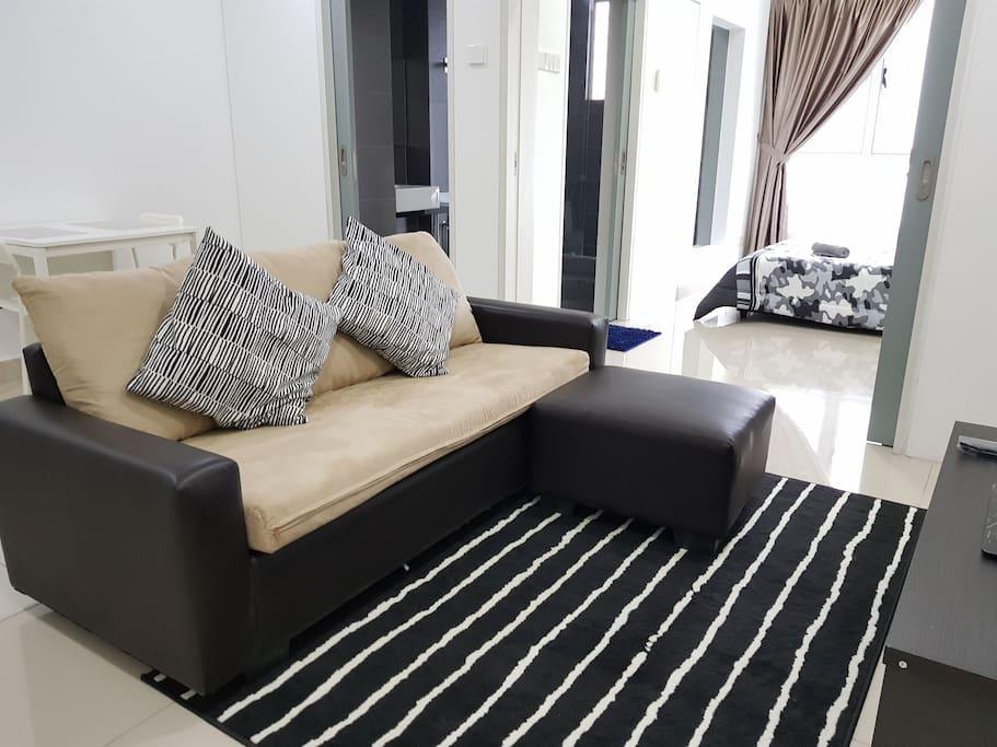 Cosy Cityview Studio Residence #Tropez Danga Bay J.B