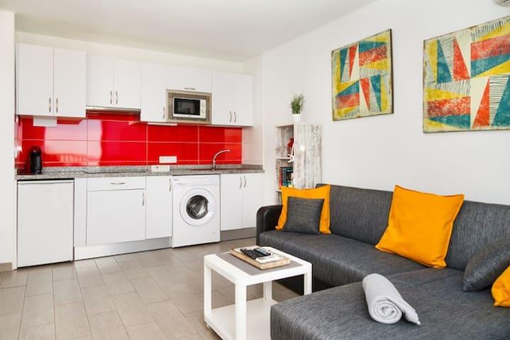 Apartamento  con vistas  y   céntrico