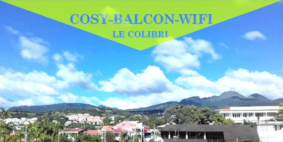 Le Colibri, vue exceptionnelle sur la Soufrière.