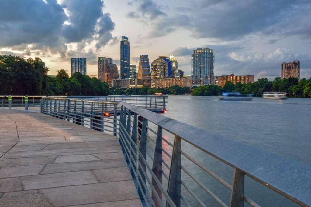 Walking distance to waterfront boardwalk