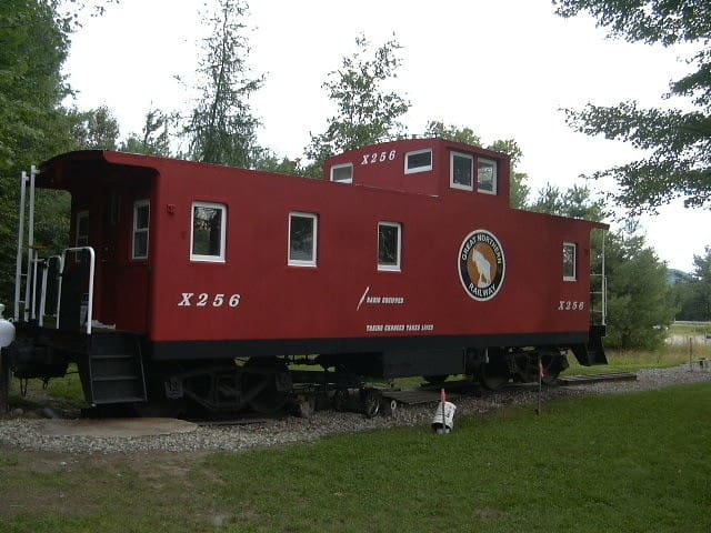 Little Caboose in the North Woods - Lancaster