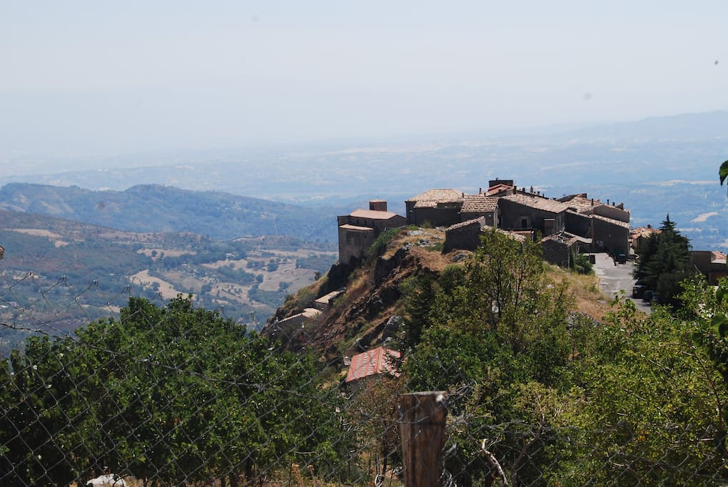 Borgo dall'alto
