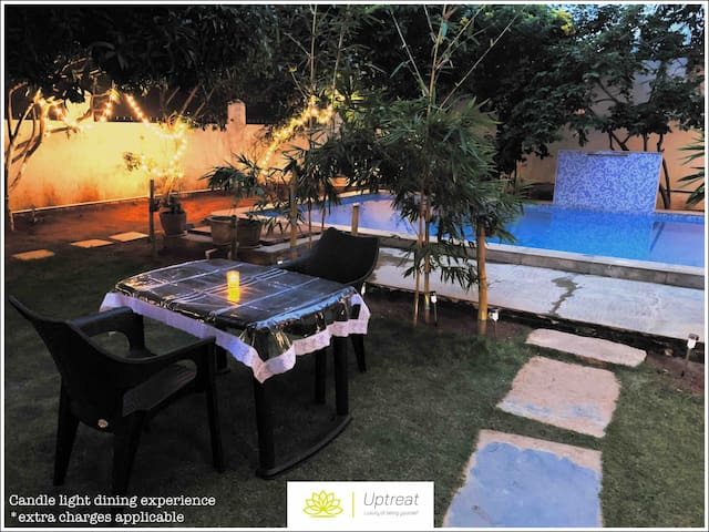 Villa 8485/R1 Garden and swimming pool