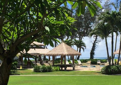 Ocean view Studio in Hotel complex - Kauai