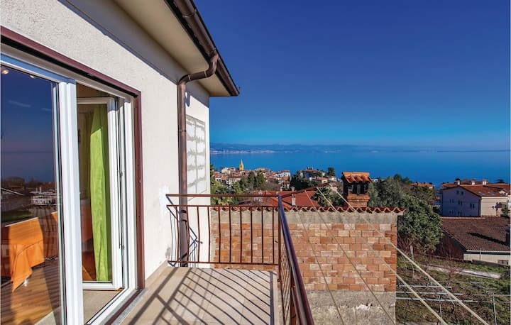Beautiful home in Lovran with WiFi and 1 Bedrooms