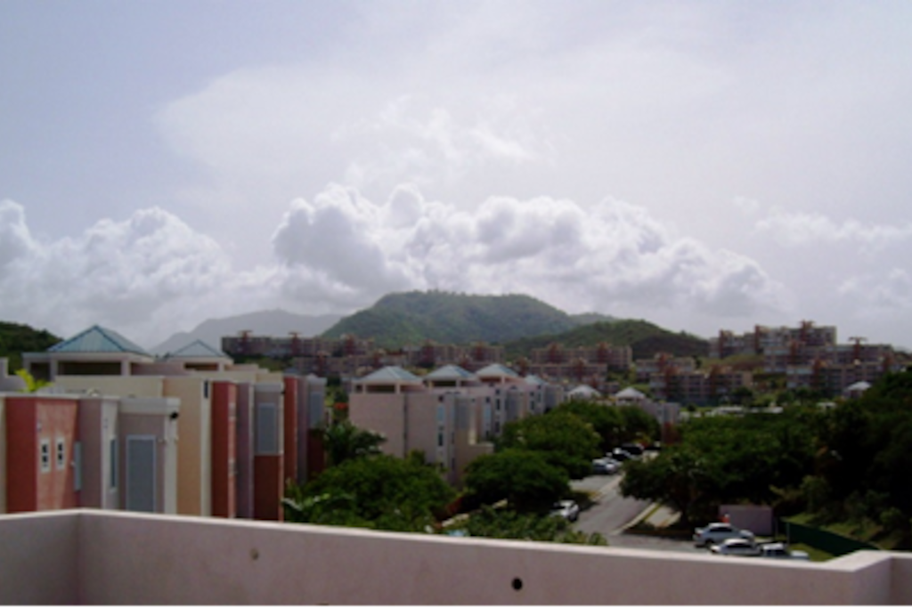 View of the Yunque Rainforest from the Terrace