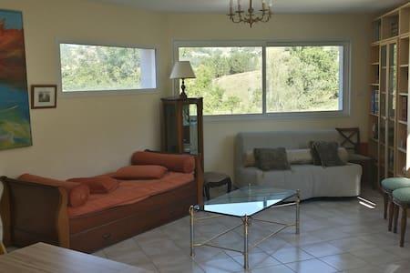 Bel Appartement de 65 m2 dans la Drôme Provençale. - Bézaudun-sur-Bîne