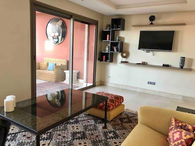 Appartement Neuf avec vue sur l'Atlas