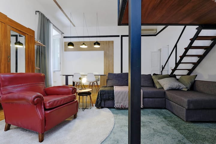 loft in the center of ROMA _ perfect stylish stay