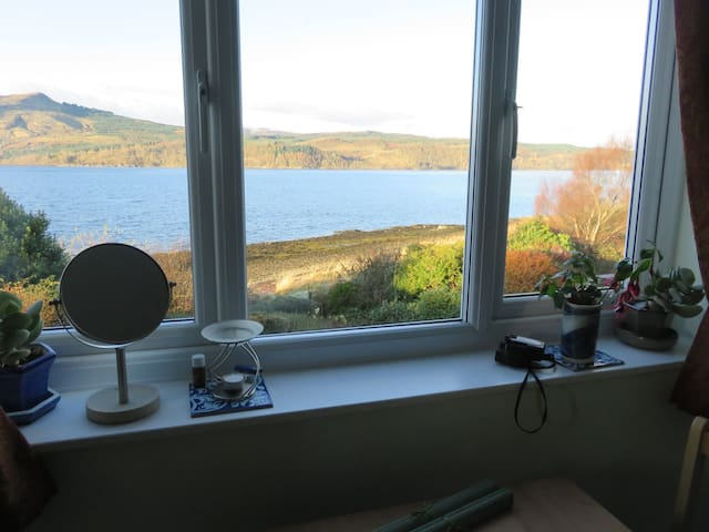 Double Room, Simple Breakfast &  View of Loch Fyne
