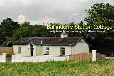 Ballinderry Station Cottage - luxury stay.