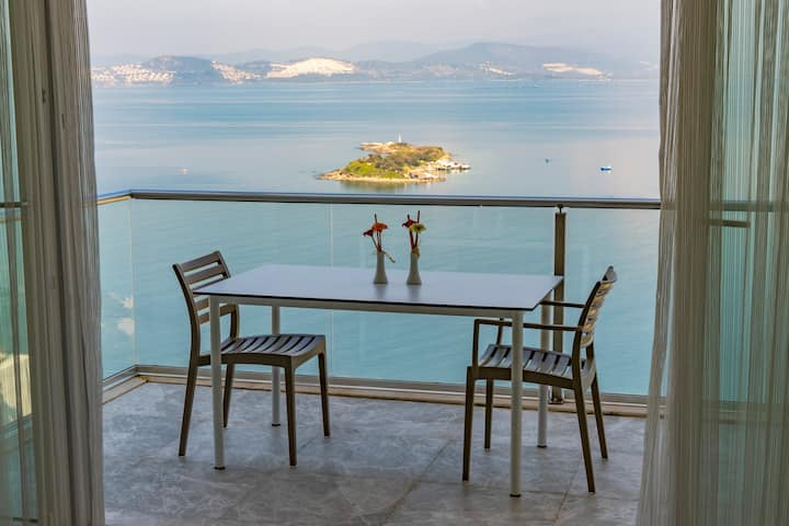 Bodrum Adabükü Lüks Özel Plaj ve Havuzlu Villa