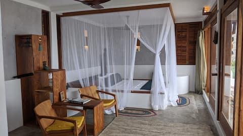 Zapanjujući stan u potkrovlju okrenut prema Indijskom okeanu