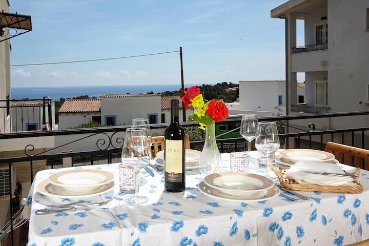 1 Living  1 Bedroom  apartment w/ seaview veranda