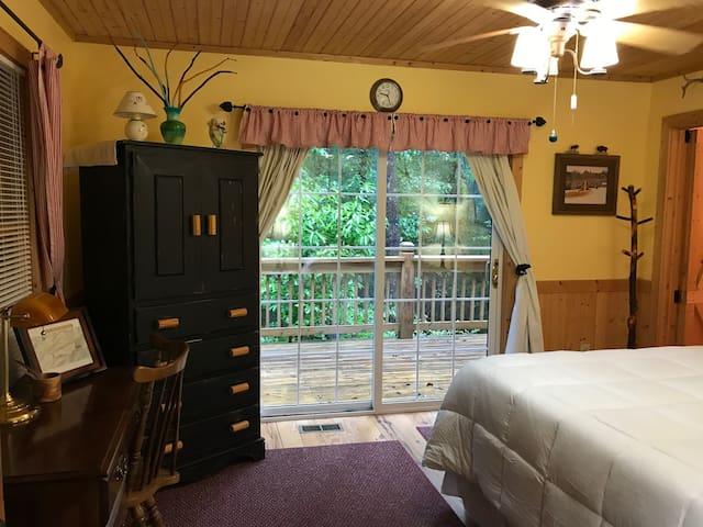 Bedroom #1 (Queen Size) TV in Armoire