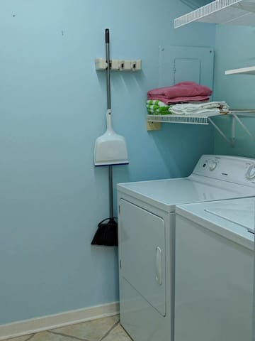 Laundry room for your convenience during your stay!