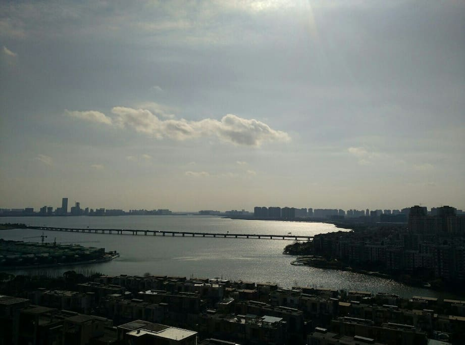 窗外阳台风景scenery outside balcony