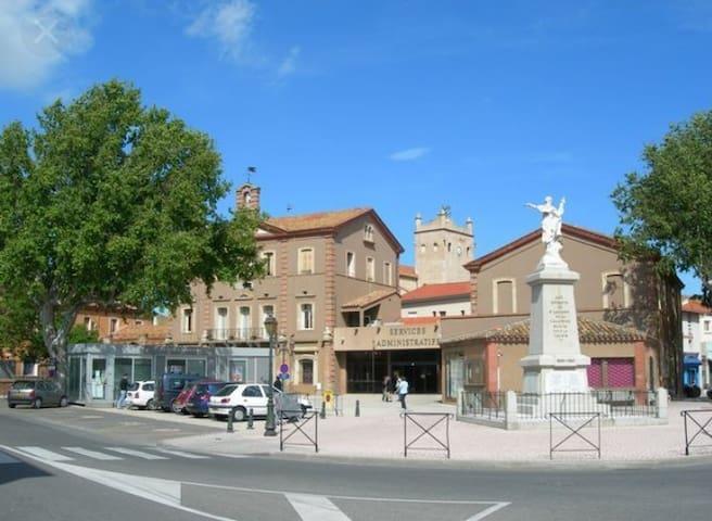 Le village de Saint Laurent de la salanque