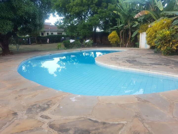 D's  Diani Beach ( 2 bedroom house with a pool )