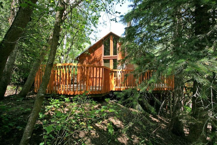 Hillside Hideaway- Hot Tub, Sauna, Fireplace, Kids Loft, Short Walk to Resort