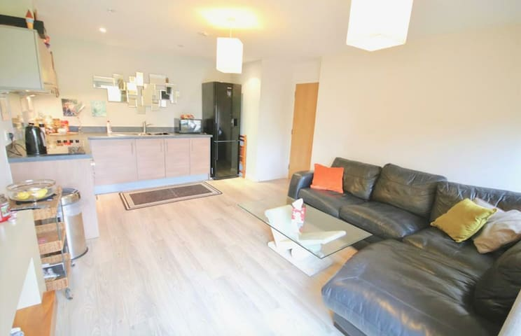 Modern 1 double bedroom hotel-style apartment - Portsmouth - Flat