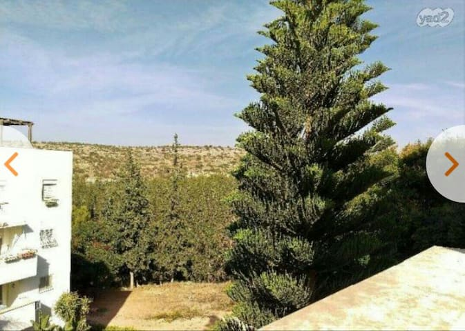 2 bedrooms apt with 2 balconies - Rosh Haayin - Appartement