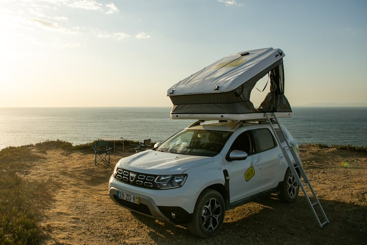 "Dacia Duster ""Overlander"", With Roof Top Tent"