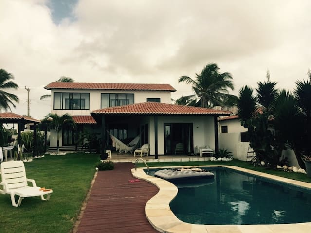 Casa á beira mar, praia de Caraúbas - Natal - Ev
