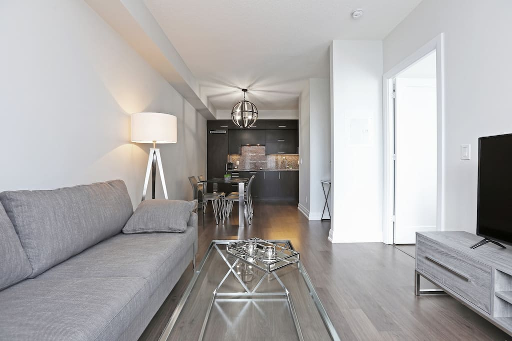 Living room:  Comfortable Sofa Smart TV, Internet, Netflix