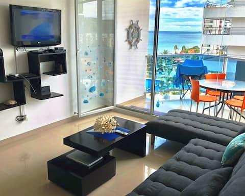 Hermoso departamento frente al mar, Arena Plaza