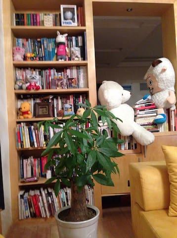自己精心装修的房间,希望给喜欢旅行、电影、音乐、咖啡的人 - Hangzhou - Apartment