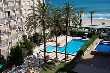 SeaFront Apart. 2 Pools / 1ª linea 2 piscinas WIFI