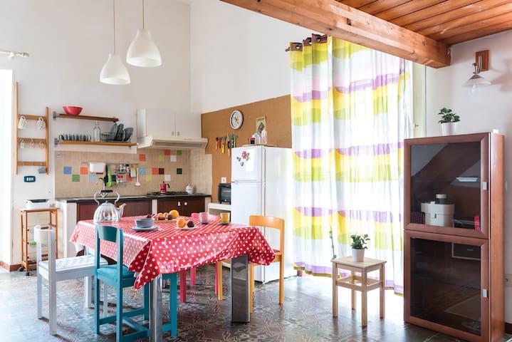 Hermosa casa siciliana en el centro