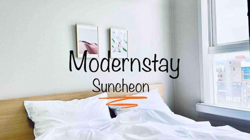 매일소독[014 #Suncheon ModernStay] #순천 모던스테이  #KTX