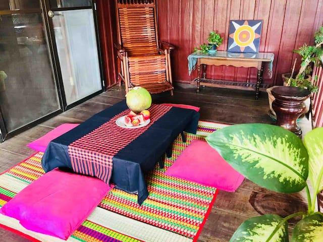 Plastic Free Khmer Wooden House, Centre Siem Reap