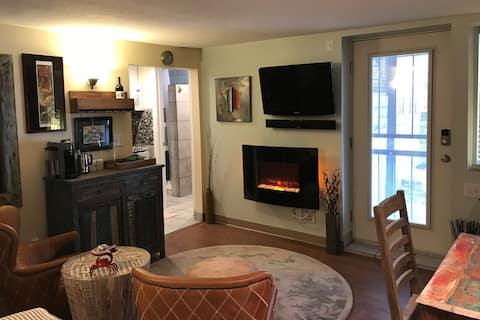 Private Studio with Mini Kitchen and Sauna
