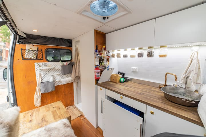 Beautiful Tiny Home on Wheels with internal shower