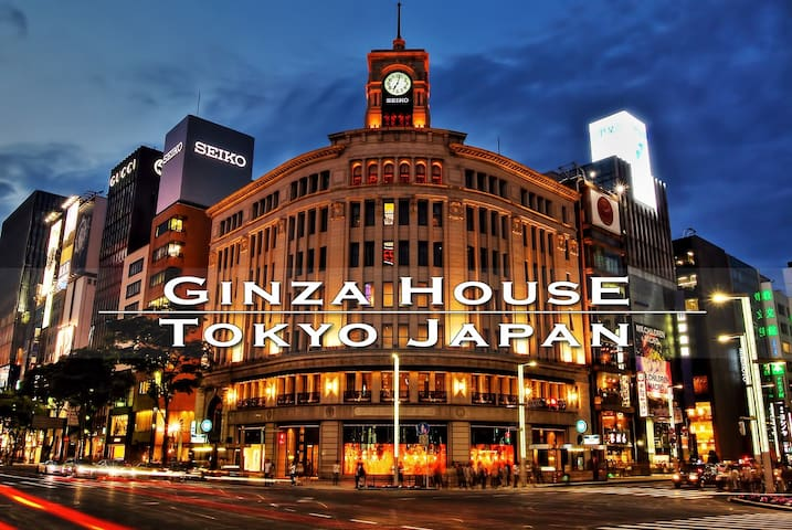 1 min to Sta near Ginza/Tsukiji 44 sq. mtrs. 1BR - Chūō-ku - Appartement