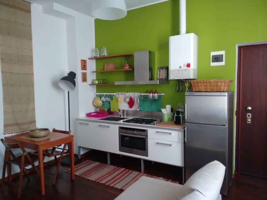 Cucina a vista Kitchen