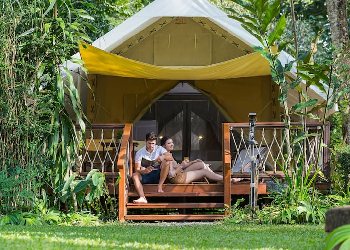 Canvas Tented Camp @Hellfire Pass