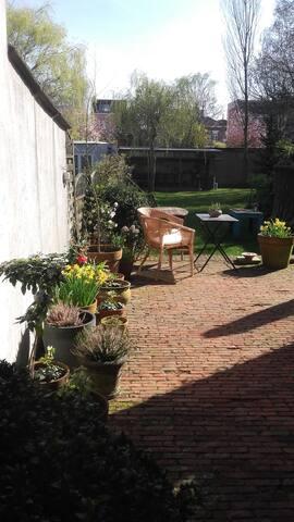 tuin met terras