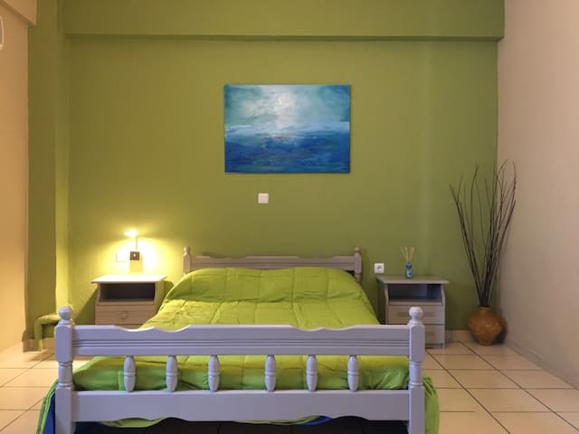 Apartment in the heart of Laganas (Green) - Zakinthos - อพาร์ทเมนท์