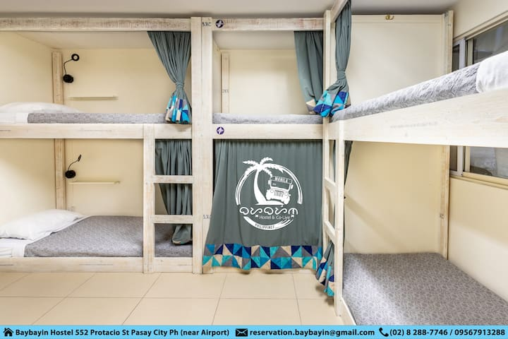 Baybayin Hostel & Co-Live *Dorm Bed* near Airport
